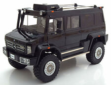 GLM 2014 Mercedes Benz Unimog U5000 Black in 1/18 Scale LE of 500 New! In Stock!