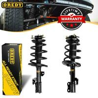 Pair Front Complete Strut W/ Spring & Mounts Assembly For 06-08 Toyota Solara