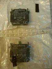 Eaton / Cutler Hammer E22B2 CONTACT BLOCK, 1NO, 10A, SCREW (Quantity 2)