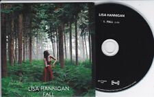 LISA HANNIGAN FALL RARE 1 TRACK PROMO CD