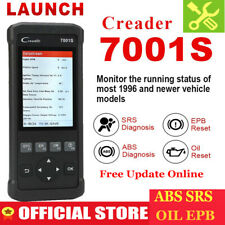ABS SRS AIRBAG EPB Oil Engine Code Reader EOBD OBD2 Car Diagnostic Tool Scanner