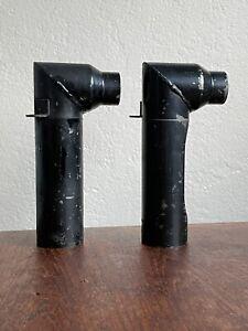 PORSCHE 912 HOT AIR GUIDE TUBE Set Heater Engine Tin PRE-HEAT Pair Preheat