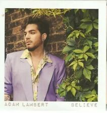 "ADAM LAMBERT ""BELIEVE"" NEW OFFICIAL 2 TRACK PROMO CD"