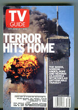 TV Guide Magazine September 29-October 5 2001 Terror Hits Home w/ML EX 050916jhe
