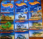 NEW VINTAGE MATTEL HOT WHEELS COLLECTIBLES LOT OF 9 SERIES RARE VHTF FROM 2000