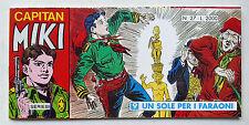 CAPITAN MIKI striscia Serie III n° 27 Dardo 1995 Un sole per i faraoni