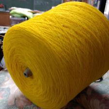 Cone Spungee Yarn Thread Bright Gold 100% Orlon Acrylic 1.5 lb