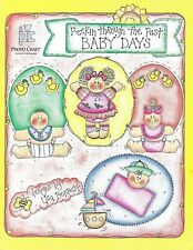 PEEKIN THROUGH THE PAST - BABY DAYS - COPY & CLIP ART Book - OOPS!