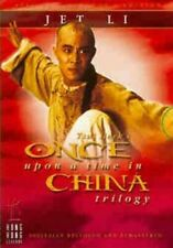 Once Upon A Time In China Trilogy DVD (2003) Jet Li