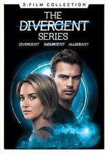 The Divergent Series: 3-Film Collection (DVD,2017)