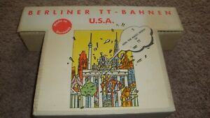 Berliner Bahnen Collector Set Model TT #01242. NIB