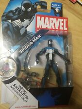 Marvel Universe 3.75 018 Black Costume Spider-Man NIB action figure