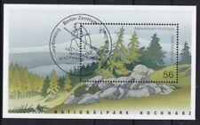 BRD 2002 gestempelt ESST Berlin Block MiNr. 59  Nationalpark Hochharz