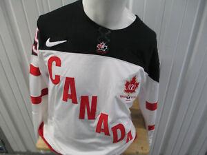 VINTAGE NIKE IIFC TEAM CANADA HOCKEY WAYNE GRETZKY #99 SMALL SEWN JERSEY 2014