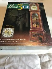 Puzz 3D Grandfather Clock 777 pieces 3' Tall NEW Factory Sealed