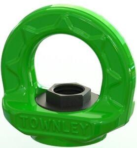 NEW industrial lifting equipment M20 Grade 100 Swivel Eye Nut - WLL: 6.0 Tonne