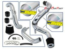 BCP BLACK 06-11 Honda Civic EX/LX/DX 1.8L Cold Air Intake Racing System + Filter