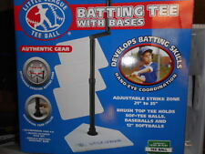"""Baseball Batting Tee With Bases Adjustable 21"""" To 35"""" New In Box"""