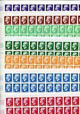 Monaco 1950 Yv 344-350 ** Ungezähnt tamponné par 50 en arc (z7206