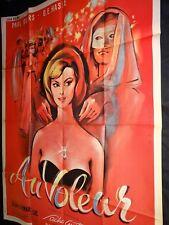 AU VOLEUR sacha guitry affiche cinema 1960