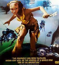 KAENA THE PROPHECY ~ DVD Sci-Fi GIANT plant VILLAGE rebellious TEENAGE WILD GIRL