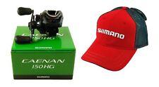 Shimano Caenan 150HG CAE-150AHG 7.2:1 Right Hand Baitcasting Reel + Hat