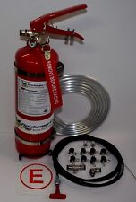 Firecharger Cold Fire Racing 2.25 Liter 5lb Fire Extinguisher System Firefreeze