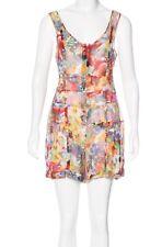 Stella McCartney 4 6 Small Floral Cotton Silk Romper Shorts Womens Jumpsuit
