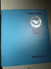 Pratt and Whitney Aircraft Wasp & Wasp Jr. Engines Overhaul Manual, Feb. 1954