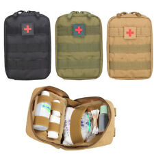 3 Colors Emergency Survival Pouch Outdoor First Aid Kit Medical Bag Molle EMT