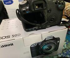 Canon EOS 50D 15.1MP Digital SLR Camera - Black (Kit w/ EF-S IS USM 17-85mm