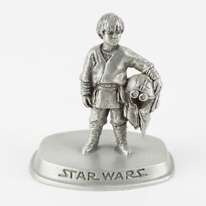 Anakin Skywalker, Podracer | Star Wars Prequels Figure by Rawcliffe Pewter