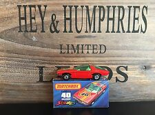 matchbox superfast no.40A-7.Rare Streakers Version mint OVP mint from 1974