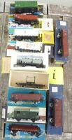 Piko Konvolut 11 Stück 2-achsige Güterwagen Ep.3/4, DR etc. gebraucht erhalten,I