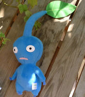 NEW ARRIVAL NINTENDO GAMES SERIES PLUSH STUFFED Pikmin ~Blue Leaf doll toy gift