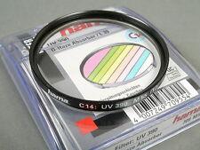 hama UV-Filter 390(0-HAZE) M55mm T2, s. g. Zustd.+Dose!