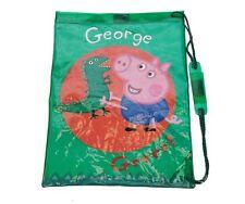 Licensed George Pig Peppa Kids Waterproof Swimming Sports PE Gym Swim Beach Bag