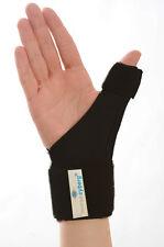 Thumb Splint Support Wrist Wrap Bandage & Aluminium Rod Morsa CY H15 Black Large