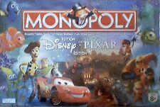 Monopoly Disney Pixar + Tropical Tycoon DVD 2 Games NEW