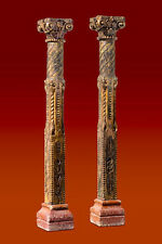 Antique Temple Columns from India