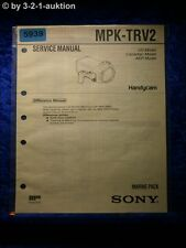 Sony Service Manual MPK TRV2 Marine Pack (#5939)