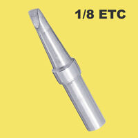 Replacement 1/8 ETC Long Conical Soldering Iron Tip for Weller WES51 PES51