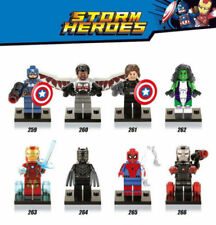 Captain America Civil War Contruction Mini Figures Building Blocks Toy Fit Le-go
