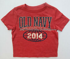 54% OFF!AUTH OLD NAVY BABY BOY'S GRAPHIC TEE 12-18 mos BNEW US$10.94+