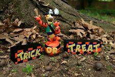Tigger Trick or Treat Figurine Winnie the Pooh Halloween Display Disney