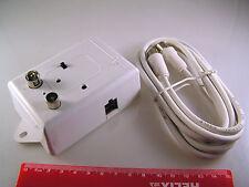 Antena Tv 2 metros cable de extensión & Modulador Caja OM849A