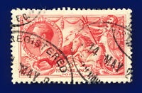 1918 SG416 5s Pale Rose-Carmine Bradbury Wilkinson N68(2) Good Used Cat£180 cghg