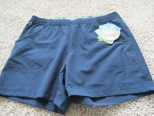 BNWT Columbia PFG Tidal Shorts, Women, Navy, Size M, Inseam 5