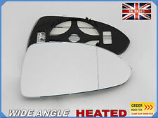 Wing Mirror Glass OPEL CORSA D 2006-2014  Wide Angle HEATED Right Side #F028