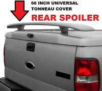"PAINTED Truck rear spoiler for tonneau bed cover 54/"" Or 64/"" With LED Light"